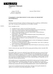 Etablering av deltidsstudium i natur-, helse- og miljøvern