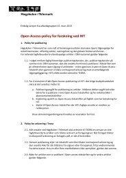 Vedlegg 3 Endelig forslag til Open access-policy mars 2013 etter ...