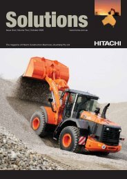 Issue One | Volume Two - Hitachi Construction Machinery