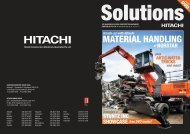 MATERIAL HANDLING - Hitachi Construction Machinery