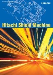 Hitachi Shield Machine - Hitachi Construction Machinery