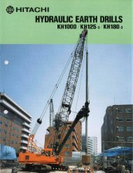 PDF (2.6mb) - Hitachi Construction Machinery