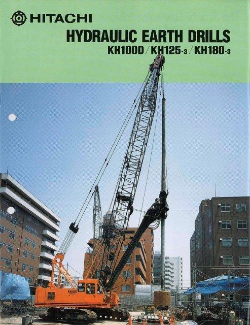 PDF (2.6mb) - Hitachi Construction Machinery