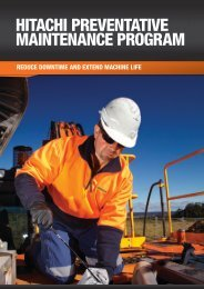 The Hitachi Preventative Maintenance Program (HPMP)