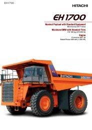170. EH1700 - Hitachi Construction Machinery
