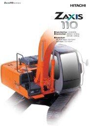 63 kW (85 PS) - Hitachi Construction Machinery