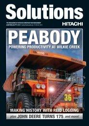 JOHN DEERE TURNS 175 - Hitachi Construction Machinery