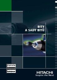 BITY A SADY BITÅ® - Hitachi