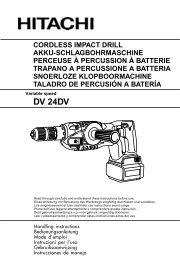 DV 24DV - Hitachi Koki Co., Ltd.