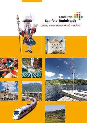 Leben, wo andere Urlaub machen - Landkreis Saalfeld-Rudolstadt