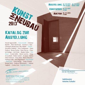 Katalog zur Ausstellung (PDF, 8.5 MB) - Rudolf Steiner Schule Aargau