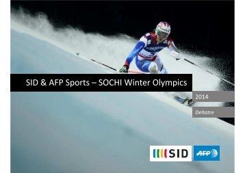 AFP Sports SOCHI 2014 DELTATRE ENG 2 - SID