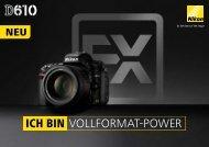 Prospekt Nikon D610 - blende7