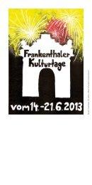 Freitag, 21.06.2013 - Stadt Frankenthal