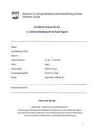 Erprobung der Gleichgewichtsfähigkeit durch ... - FSSport.de
