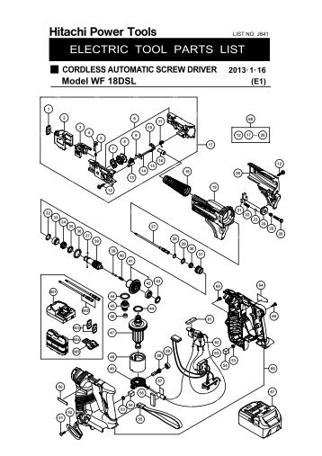 Exploded Schematic Diagram