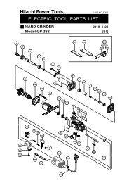 Hitachi 314754 SET PLATE P20DA Replacement Part