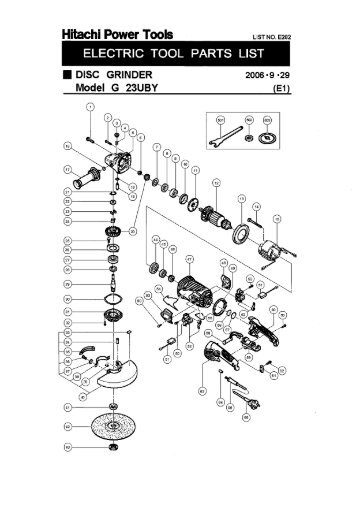 rp30y exploded diagram and parts listing
