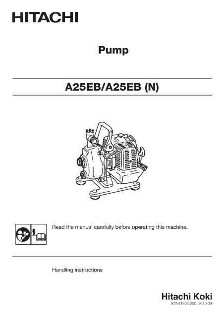 A25EB(H4) Instruction Manual - Hitachi