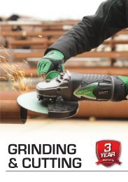 Click Here to view Hitachi's Grinding & Cutting Catalogue