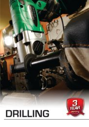 Click Here to view Hitachi's Drilling Catalogue