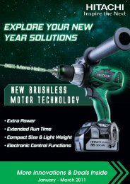 EXPLORE YOUR NEW YEAR SOLUTIONS - Hitachi