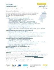 Newsletter Ausgabe 4 / 2013 - Ganztägig Lernen - Hessen