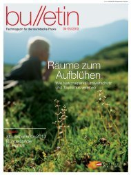 bulletin April,Mai 2013 - Österreich Werbung