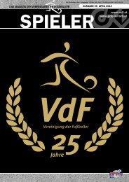 Spieler - VdF • Vereinigung der Fußballer