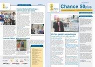 Newsletter Chance 50plus Ausgabe 9/2013