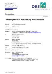 Wertungsrichter Fortbildung Rollstuhltanz - Deutscher Rollstuhl ...