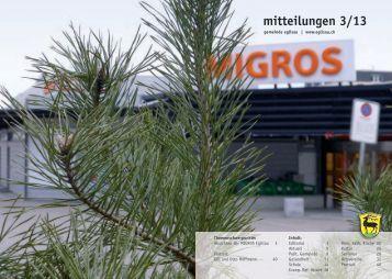 mitteilungen 3/13 - Gemeinde Eglisau