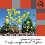 Gymnasium Gerresheim – Das Ganztagsgymnasium mit Perspektive