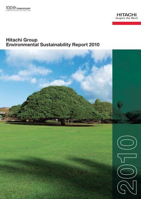 Hitachi Group Environmental Sustainability Report 2010 (PDF