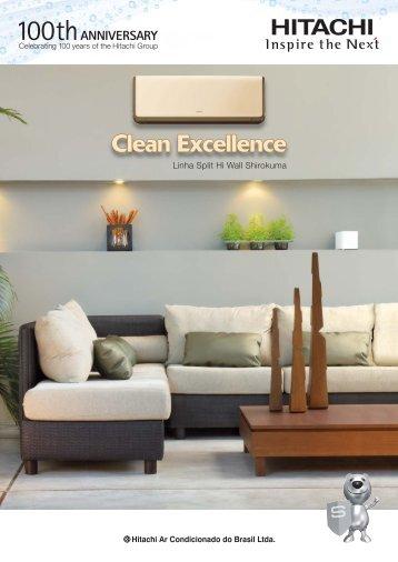 Clean Excellence - Hitachi Ar Condicionado do Brasil