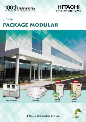 package modular package modular - Hitachi Ar Condicionado do ...