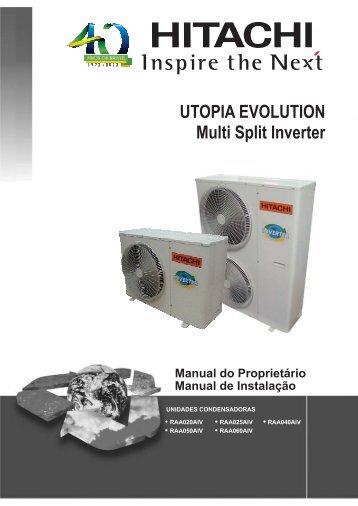 Utopia Evolution - Hitachi Ar Condicionado do Brasil