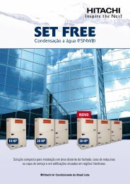 SET FREE - Hitachi
