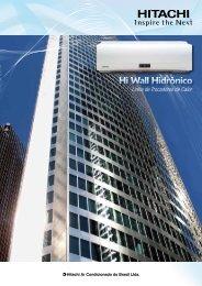 Hi Wall Hidrônico - Hitachi