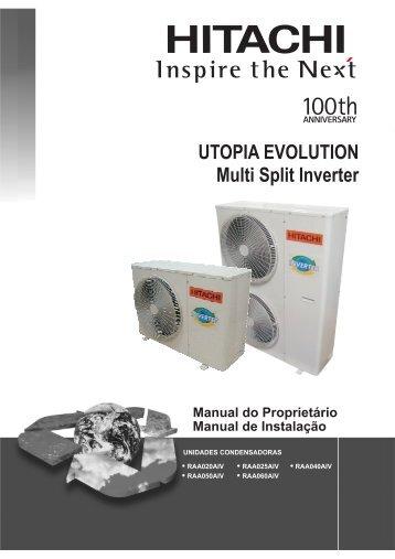 RAA040AIV - Hitachi Ar Condicionado do Brasil