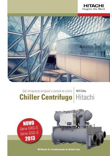 Chiller Centrífugo Hitachi