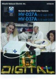 HV-D27A Brochure - Hitachi Kokusai Electric America, Ltd.