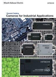 Cameras for Industrial Applications - Hitachi Kokusai Electric ...