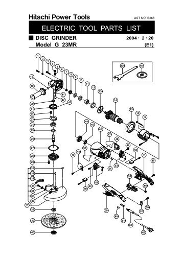 C6SS Product Manual - Hitachi Power Tools Australia Pty Ltd Hitachi Tools Par