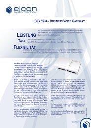 BIG 5530 - Elcon Systemtechnik