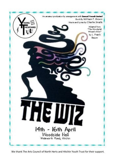 The Wiz - programme (Read-Only) - Hitchin Thespians