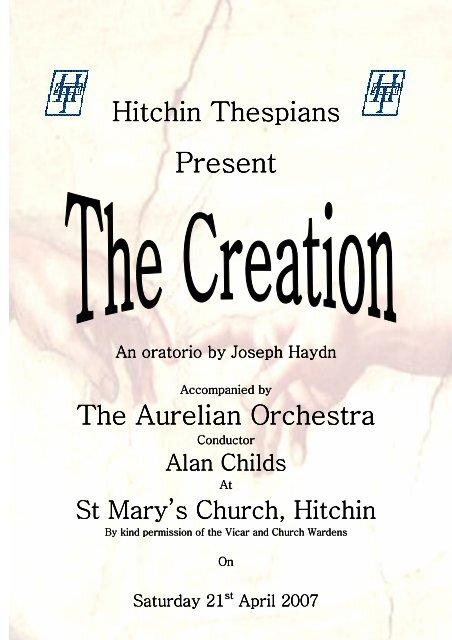 Present - Hitchin Thespians