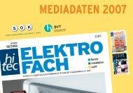 MEDIADATEN 2007 - hitec ELEKTROFACH