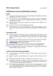 Publikationsliste - Universität zu Köln