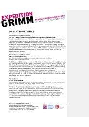 Foto Expedition Grimm - Hessisches Ministerium für Wissenschaft ...